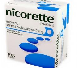 Nicorette Microtab tabletki podjęzykowe