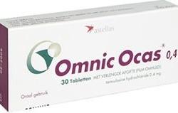 Omnic Ocas tabletki o przedłużonym uwalnianiu