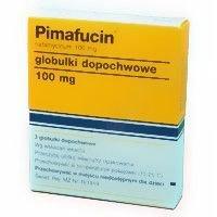 Pimafucin (globulki dopochwowe)
