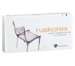 Ruskorex czopki maść