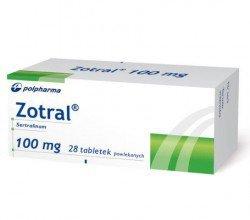 Zotral 100 mg tabletki powlekane