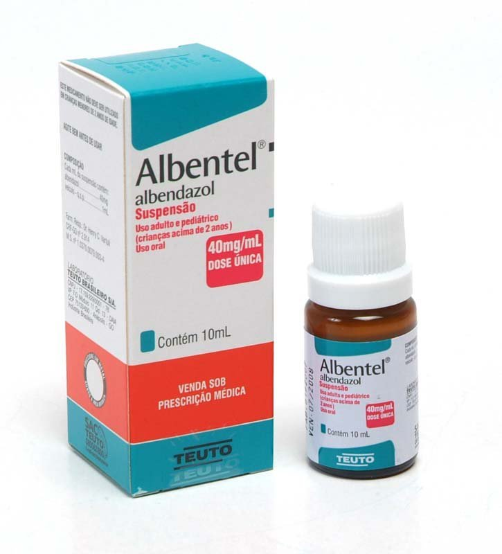 Albentel zawiesina doustna