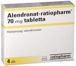 Alendronat-ratiopharm 70 - opakowanie produktu