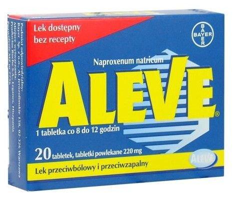 Aleve tabletki