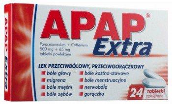 apap extra tabletki