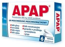Apap tabletki