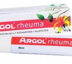 argol rheuma maść