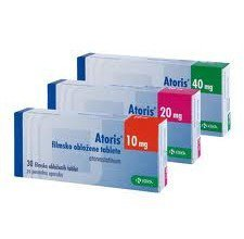 Atoris tabletki