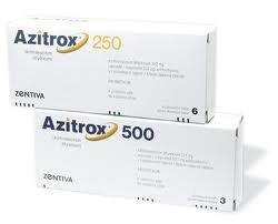 Azitrox 250 500 tabletki