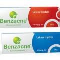 benzacne żel