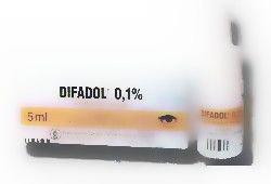 Difadol 01% krople do oczu