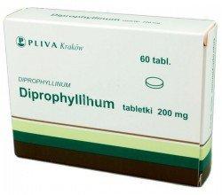 diprophyllinum tabletki