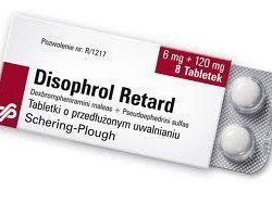 disophrol retard tabletki