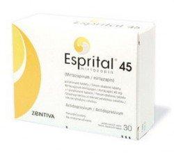 Esprital 45 tabletki powlekane