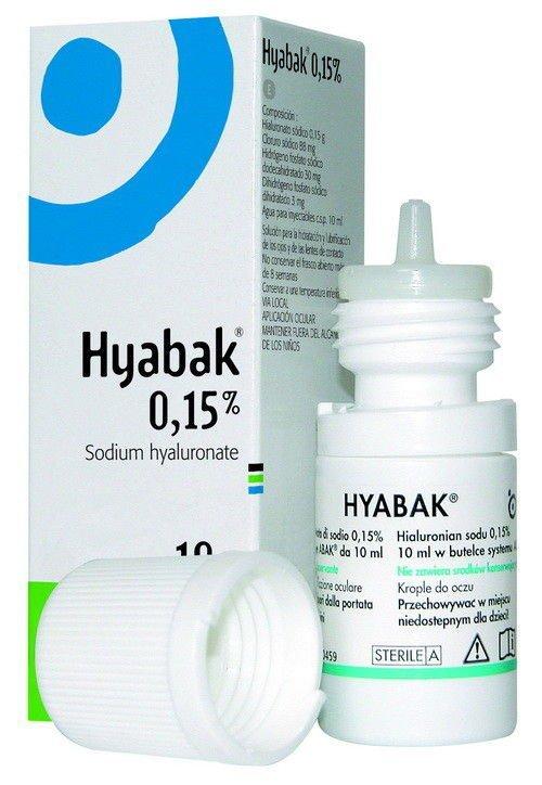 Hyabak krople do oczu