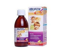 Witaminy i minerały Ibufen smak pomarańczowy 100 ml