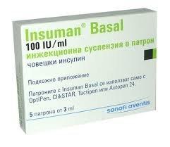 insuman basal zawiesina