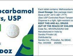 methocarbamol-tabletki