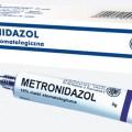 metronidazol maść