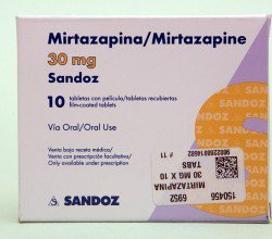 mirtazapina tabletki powlekane