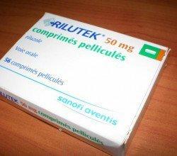 rilutek tabletki powlekane