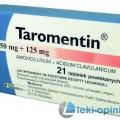 Taromentin - opakowanie produktu