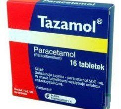 tazamol tabletki