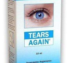 tears again spray