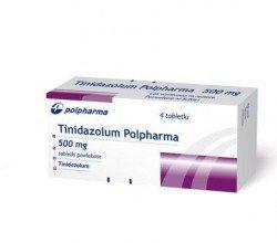 Tinidazolum - opakowanie produktu