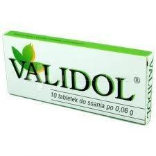 Validol tabletki