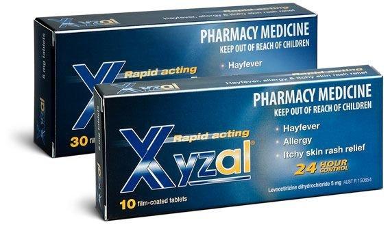 Xyzal tabletki