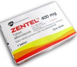 zentel tabletki