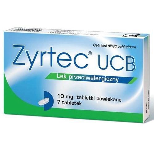 Zyrtec UCB tabletki