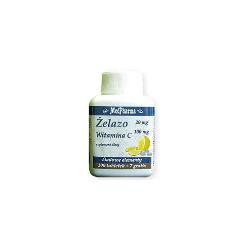 Żelazo + witamina C tabletki