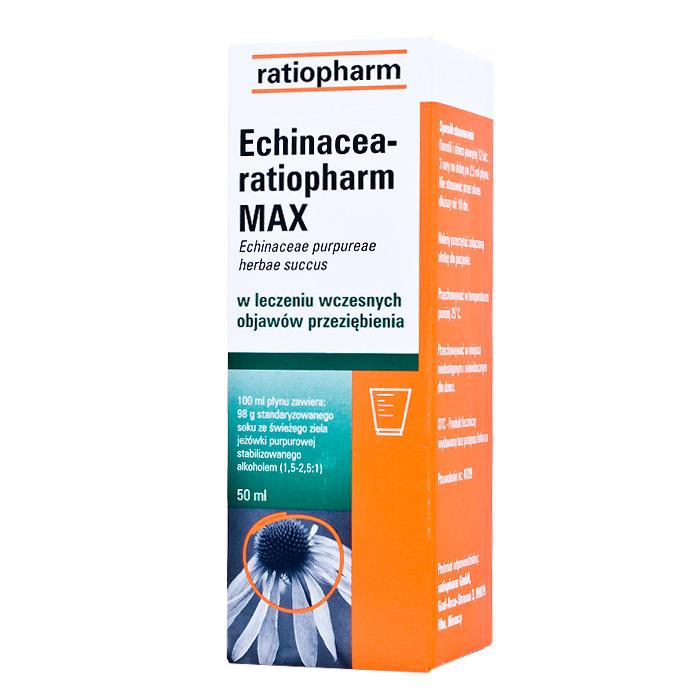 Echinacea-ratiopharm Max płyn