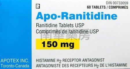 Apo-Ranitidine tabletki