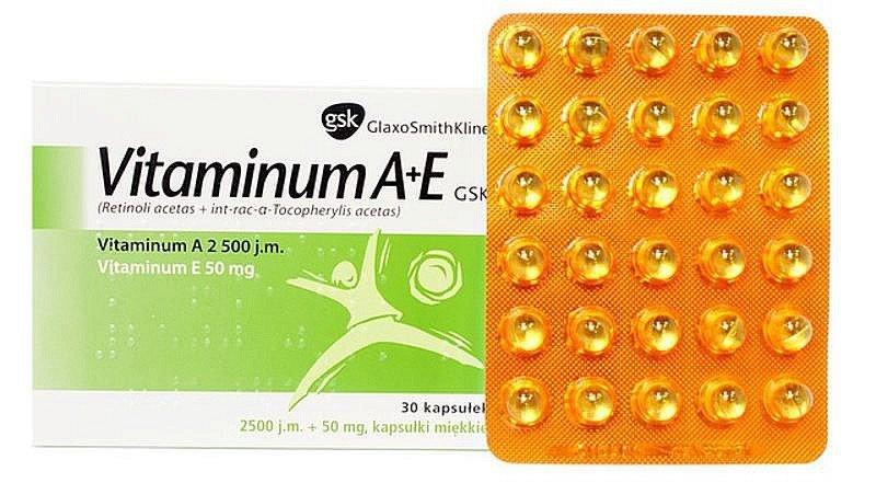 Vitaminum A + E GSK