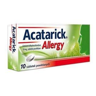 Acatarick allergy