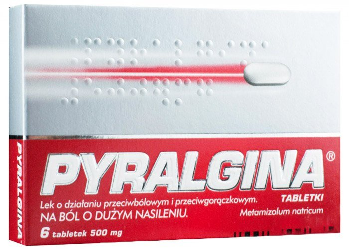 Pyralgina tabletki
