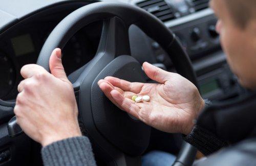 13 leków po zażyciu których nie można kierować samochodem