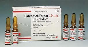 Estradiol depot