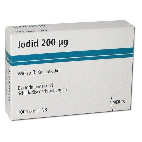 Jodid tabletki