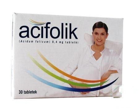 Acifolik tabletki