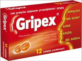 gripex tabletki