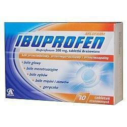 Ibuprofen tabletki