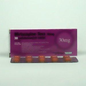 Mirtazapine Teva 15 30 45 tabletki powlekane