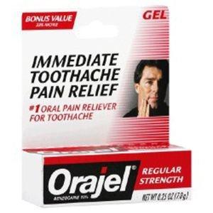 Orajel Regular Strength Gel