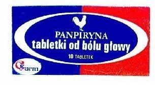 Panpiryna od bólu głowy