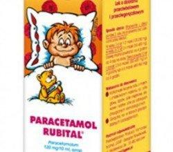 Paracetamol Rubital - opakowanie produktu