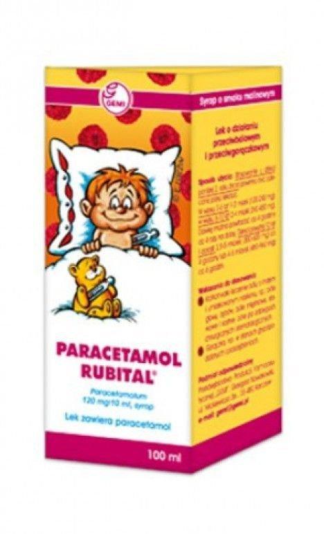 Paracetamol rubital syrop